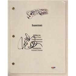 """Richard Donner Signed """"Superman: The Movie"""" Full Movie Script (PSA COA)"""