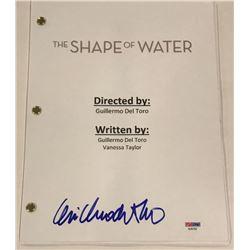 """Guillermo del Toro Signed """"The Shape of Water"""" Full Movie Script (PSA COA)"""