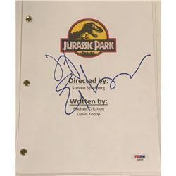 "Jeff Goldblum Signed ""Jurassic Park"" Full Movie Script (PSA COA)"