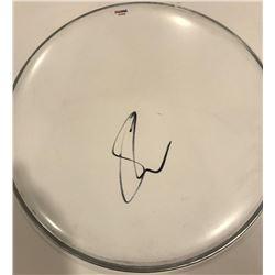 "Shawn Mendes Signed 12"" Drum Head (PSA COA)"