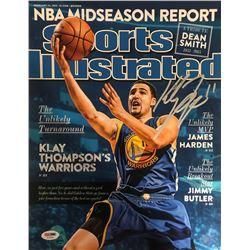 Klay Thompson Signed Warriors 11x14 Sports Illustrated Cover Photo (PSA COA)