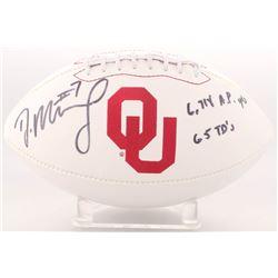 "DeMarco Murray Signed Oklahoma Sooners Logo Football Inscribed ""6,718 A.P. Yards""  ""65 TD's"" (Radtke"