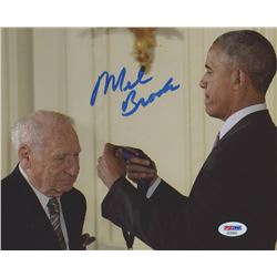 Mel Brooks Signed 8x10 Photo (PSA COA)