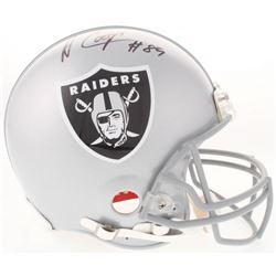 Amari Cooper Signed Raiders Full-Size Authentic On-Field Helmet (JSA COA)