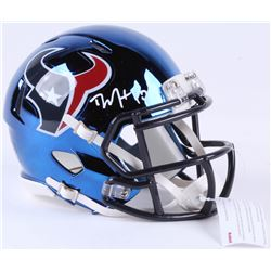 DeAndre Hopkins Signed Texans Chrome Speed Mini-Helmet (JSA COA)