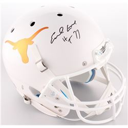 "Earl Campbell Signed Texas Longhorns Full-Size Helmet Inscribed ""HT 77"" (JSA COA)"