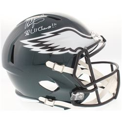 "Alshon Jeffery Signed Eagles Full-Size Speed Helmet Inscribed ""SB LII Champs!!!"" (Fanatics Hologram)"