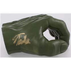 Stan Lee Signed Marvel Hulk Hand (PSA LOA)