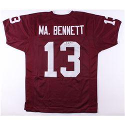Martellus Bennett Signed Texas AM Aggies Jersey (JSA COA)