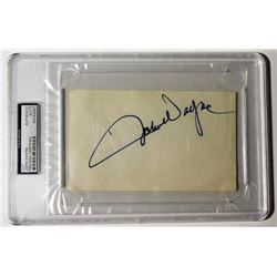 John Wayne Signed Cut (PSA Encapsulated)