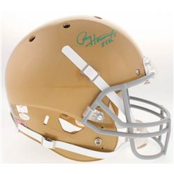 "Paul Hornung Signed Notre Dame Fighting Irish Full-Size Helmet ""56 H."" (JSA COA  Radtke COA)"
