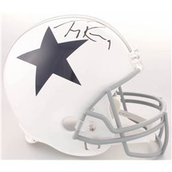 Tony Romo Signed Cowboys Full-Size Helmet (JSA COA)