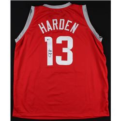 James Harden Signed Rockets Jersey (Beckett COA)