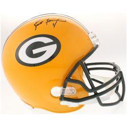 Brett Favre Signed Packers Full-Size Helmet (Favre COA)