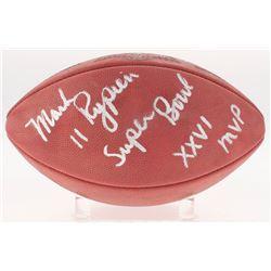 "Mark Rypien Signed Official Super Bowl XXVI Game Ball Inscribed ""Super Bowl XXVI MVP"" (Radtke Hologr"