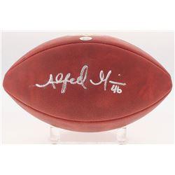 """Alfred Morris Signed """"The Duke"""" Official NFL Game Ball (Radtke COA)"""