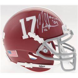 "Mark Ingram Signed Alabama Crimson Tide Mini-Helmet Inscribed ""Heisman '09"" (Radtke COA  Ingram Holo"