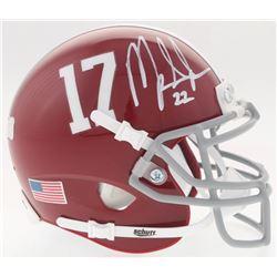 Mark Ingram Signed Alabama Crimson Tide Mini-Helmet (Radtke COA  Ingram Hologram)