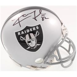 Khalil Mack Signed Raiders Mini-Helmet (JSA COA)