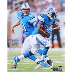 Matthew Stafford  Reggie Bush Signed Lions 16x20 Photo (TriStar, Stafford  Bush Hologram)