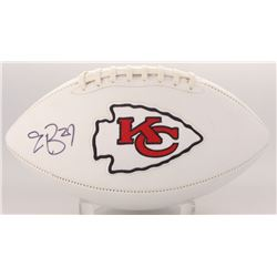 Eric Berry Signed Chiefs Logo Football (JSA COA)