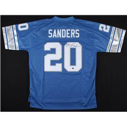 Barry Sanders Signed Lions Jersey (Schwartz Hologram)