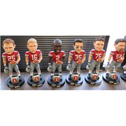 Complete Set of (15) 2002 Ohio State Buckeyes Champions Limited Edition Bobbleheads