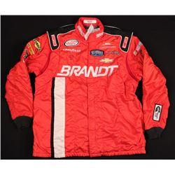 Dale Earnhardt Jr. Signed Nascar Team Simpson Crew Suit Jacket (JSA LOA)