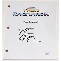 "Jeff Goldblum Signed ""Thor: Ragnarok"" Full Movie Script (PSA COA)"