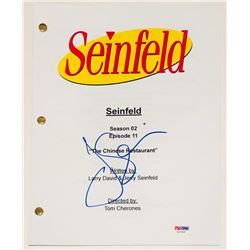 """Jerry Seinfeld Signed """"Seinfeld"""" Full Episode Script (PSA COA)"""