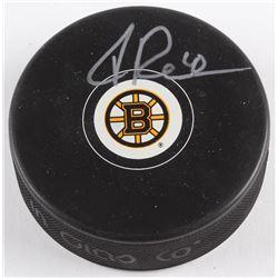 Tuukka Rask Signed Bruins Logo Hockey Puck (Sure Shot Promotions Hologram  Rask Hologram)