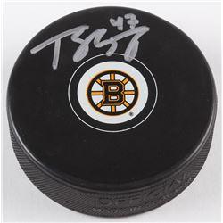 Torey Krug Signed Bruins Logo Hockey Puck (JSA COA  Sure Shot Promotions Hologram)