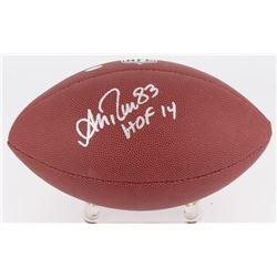 Andre Reed Signed NFL Football (Schwartz COA)