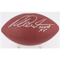 "Richard Dent Signed NFL Football Inscribed ""MVP XX"" (Schwartz COA)"