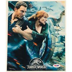 """Chris Pratt Signed """"Jurassic World: Fallen Kingdom"""" 8x10 Photo (PSA COA)"""