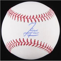 Jameson Taillon Signed OML Baseball (Schwartz COA)