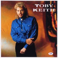 Toby Keith Signed 12x12 Photo (PSA COA)