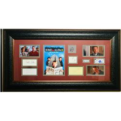 Home Alone 2: Lost in New York 21x39 Custom Framed Cut Display Signed by (7) with Macaulay Culkin, J