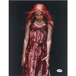 Chloe Grace Moretz Signed Carrie 11x14 Photo (PSA COA)