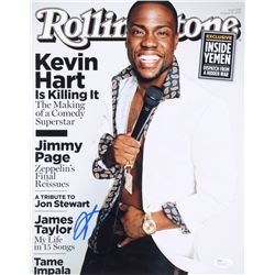 Kevin Hart Signed Rolling Stone Cover 11x14 Photo (JSA COA)