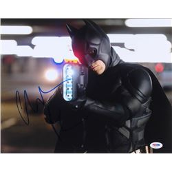 Christian Bale Signed The Dark Knight 11x14 Photo (PSA COA)