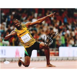 Usain Bolt Signed 11x14 Photo (JSA COA)