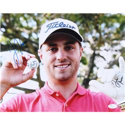 Justin Thomas Signed 11x14 Photo (JSA COA)