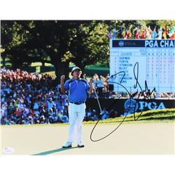 Jason Dufner Signed 11x14 Photo (JSA COA)