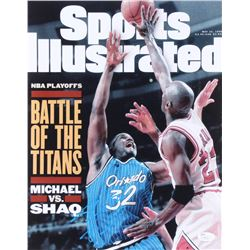 Shaquille O'Neal Signed Sports Illustrated Cover 11x14 Photo (JSA COA)