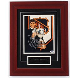 Ray Bourque Signed Bruins 15x19 Custom Framed Photo Display (PSA COA)