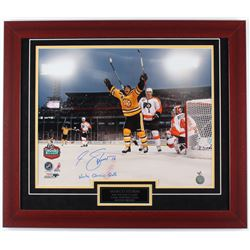 Marco Sturm Signed Bruins 23.5x27.5 Custom Framed Photo Display (Sturm Hologram)