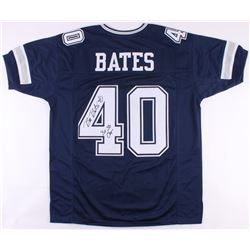 "Bill Bates Signed Cowboys Jersey Inscribed ""3x SB Champs"" (JSA COA)"