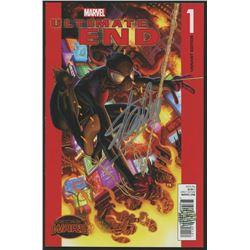 """Stan Lee Signed 2015 """"Secret Wars: Ultimate End"""" Volume 1 Issue #1 Marvel Comic Book (Lee COA)"""