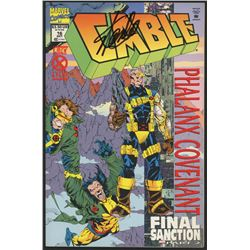 """Stan Lee Signed 1994 """"Cable"""" Issue #16 Marvel Comic Book (Lee COA)"""